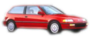 HONDA CIVIC HONDA CIVIC H/B 90-92