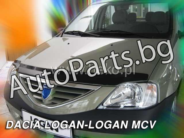 Дефлектор преден капак за DACIA LOGAN 05-