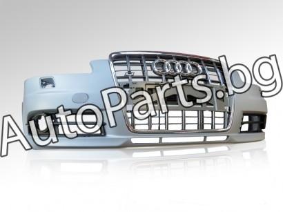 Оригинална предна S-line броня, S6 решетка и S6 емблема за AUDI A6 04-