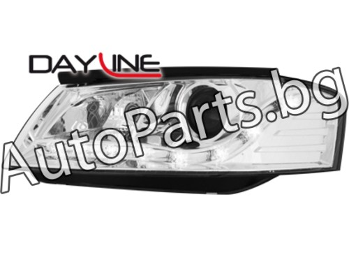 Dayline Фарове Хром за AUDI A3 03-