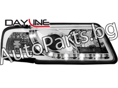 Dayline Фарове Хром за AUDI A3 96-03