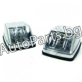 LED странични мигачи хром основа за Mercedes W461/ W463 G-CLASS 89-