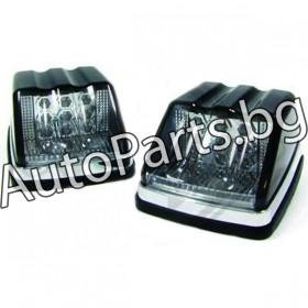 LED странични мигачи черна основа за Mercedes W461/ W463 G-CLASS 89-
