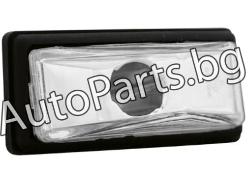 Кристални мигачи черен хром за FIAT UNO 83-89