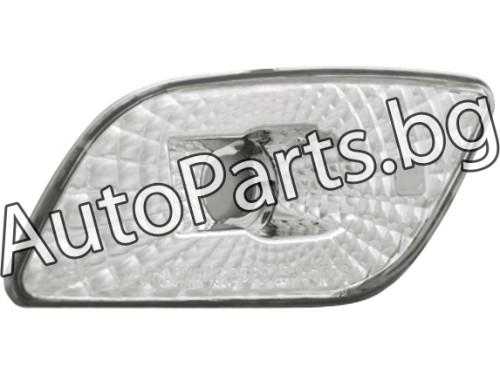 Кристални мигачи хром за Subaru Impreza WRX 01-02