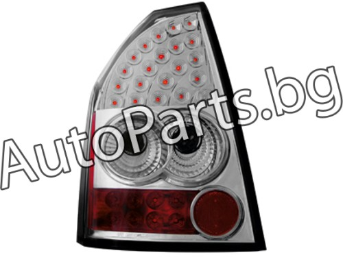 Dectane LED Стопове Хром за Chrysler 300C 04-08