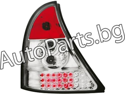 Dectane LED Стопове Хром за RENAULT CLIO 98-01