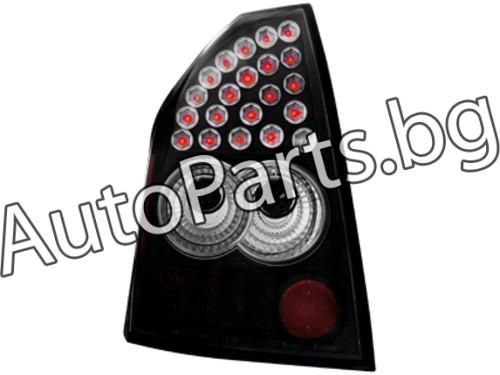 Dectane LED Стопове черни за Chrysler 300C 04-08