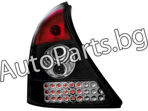 Dectane LED Стопове Черни за RENAULT CLIO 98-01