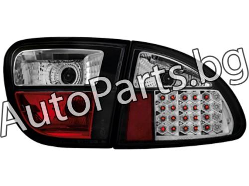 Dectane LED Стопове Черни за SEAT LEON 99-05