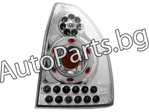 Dectane LED Стопове 3 Врати Хром за HONDA CIVIC H/B 96-99