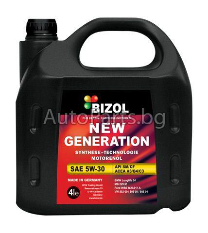 Масло BIZOL NEW GENERATION 5w30 4L