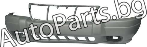 Броня предна сива (LAREDO) за CHRYSLER/JEEP GRAND CHEROKEE 99-