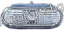 Мигач в калника ляв=десен бял за VW PASSAT 97-00