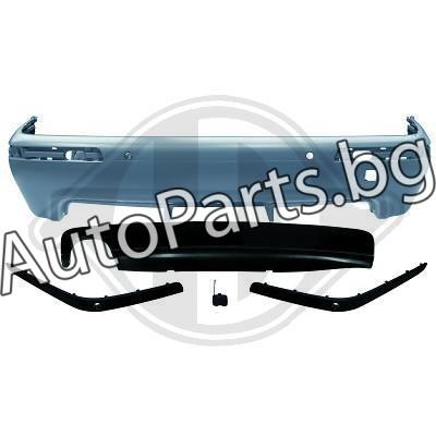 Задна тунинг броня M-TECH за BMW 5Ser (E39) 96-04