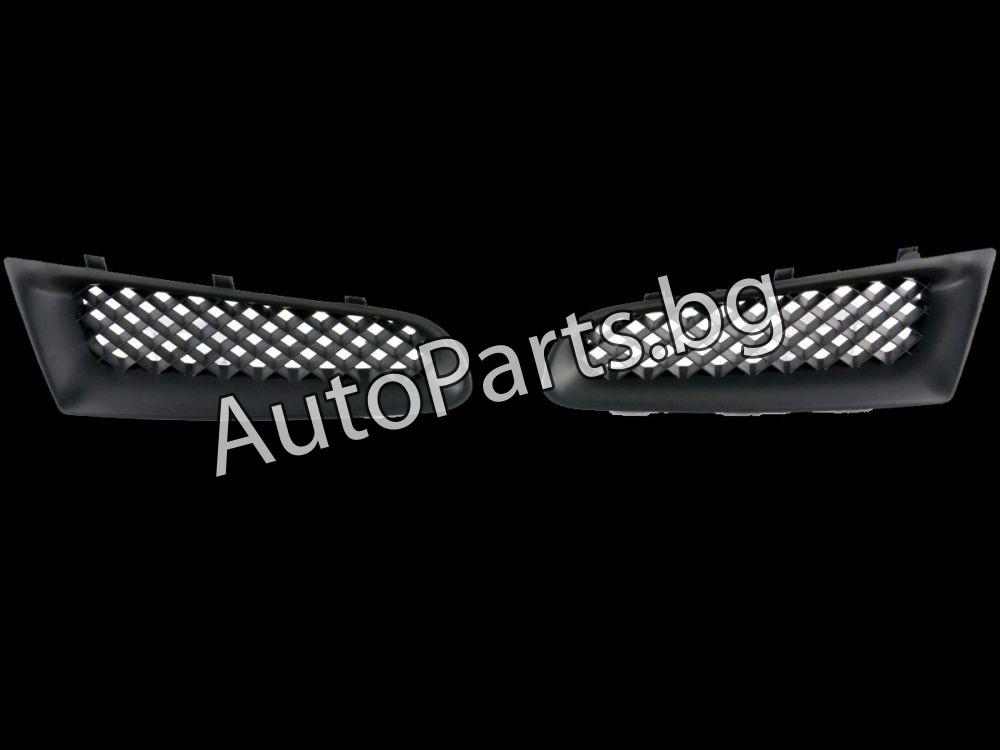 Решетка без емблема черна за RENAULT CLIO 06-