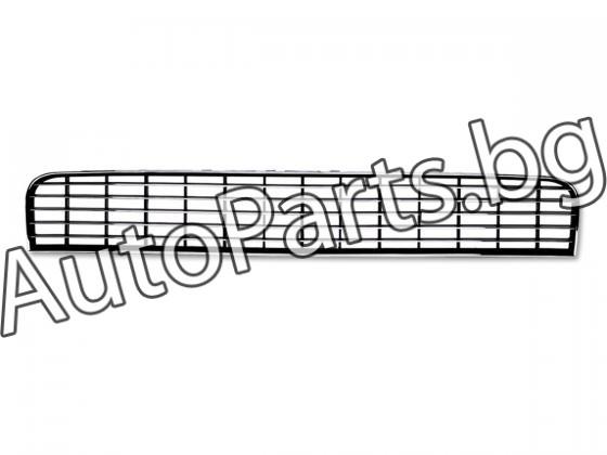 Решетка без емблема с хром лайсни за FIAT PUNTO GRANDE 05-