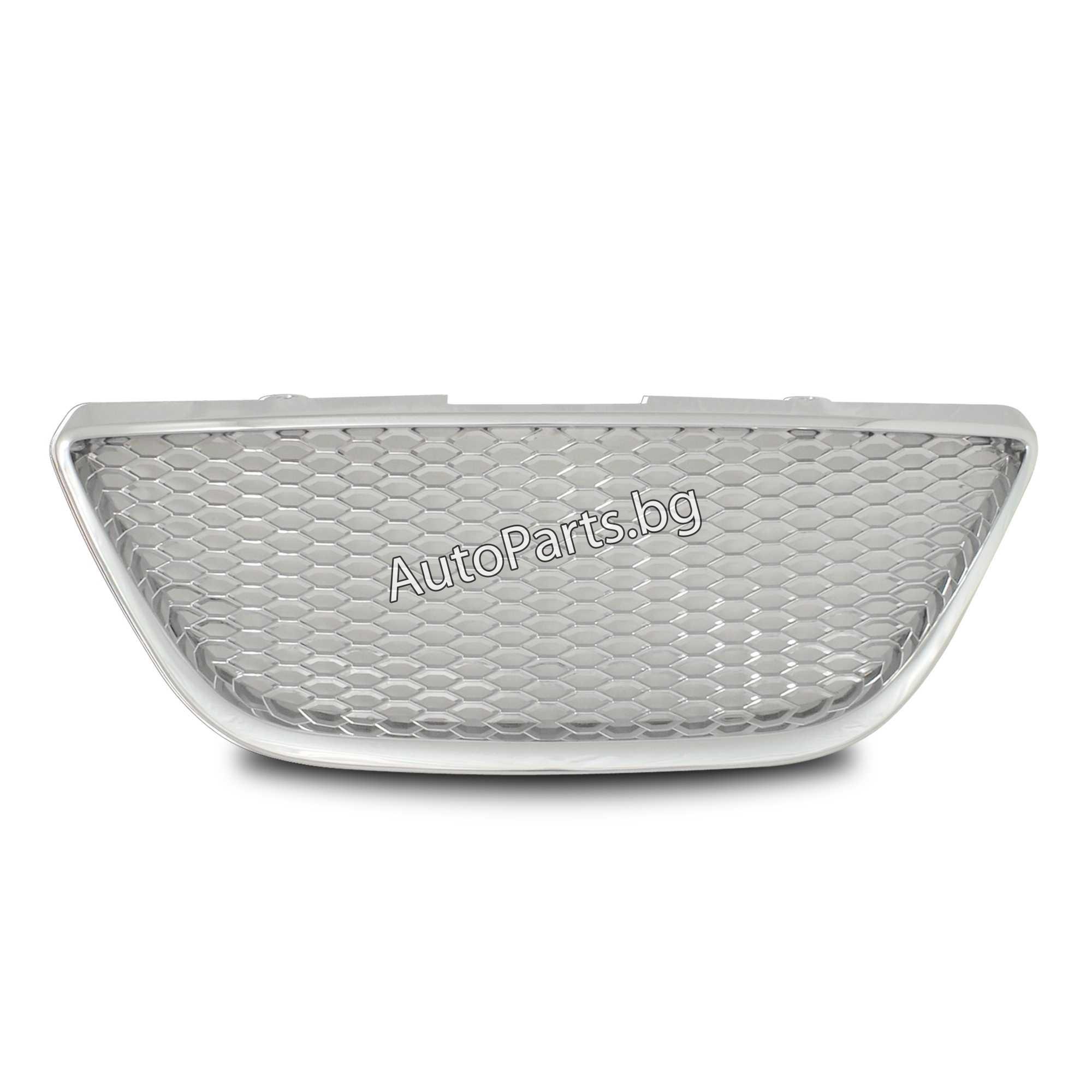 Решетка без емблема хром за SEAT IBIZA 08 -