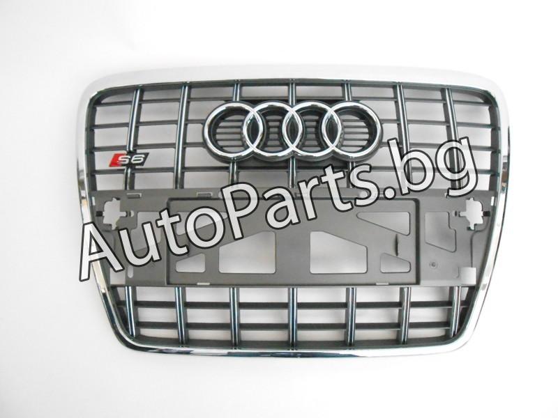Хром решетка S6 за Audi A6/S6 за AUDI A6 04-