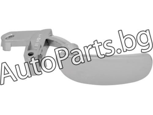 Метални хром дръжки за PEUGEOT 206 98-