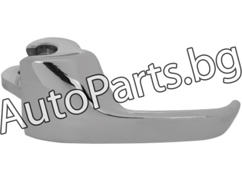 Метални хром дръжки за VW JETTA 84-91
