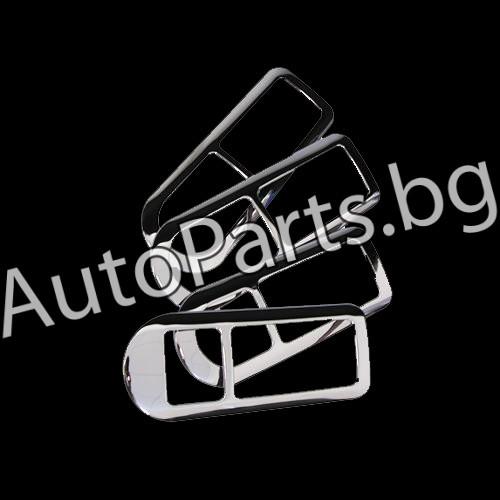 Хром метални капаци за VW GOLF IV 98-04