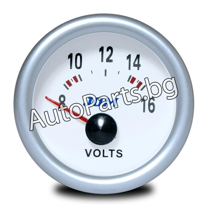 Измервателен уред за напрежението на акумулатора