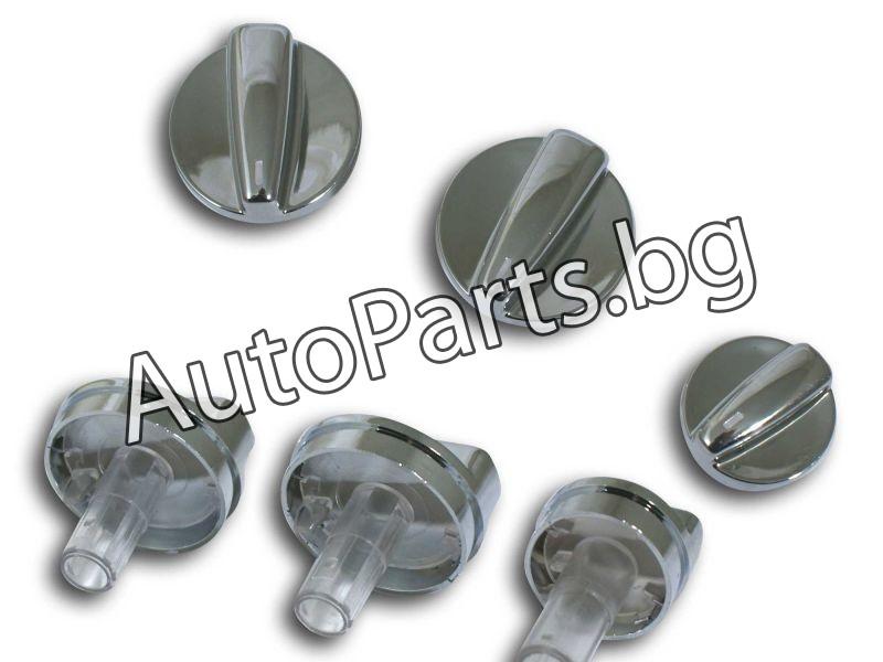 Копчета за парното хром за VW PASSAT 97-00
