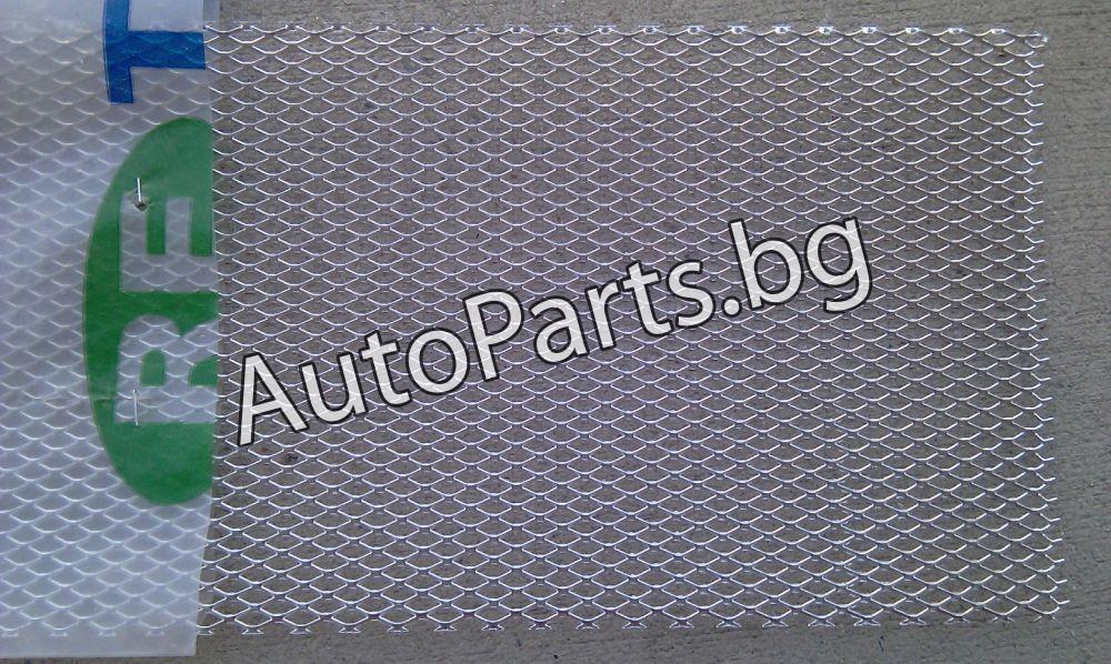 Мрежа метална хром 100x20 за BMW 5Ser (E39) 96-04